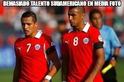 Enlace a Demasiado talento sudamericano en media foto