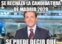 Enlace a Se rechaza la candidatura de Madrid 2020