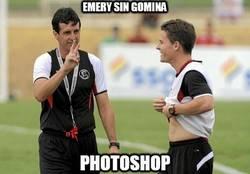 Enlace a Emery sin gomina