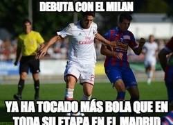 Enlace a Kaká debuta con el Milan