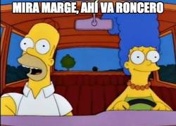 Enlace a Mira Marge, ahí va Roncero
