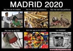 Enlace a Así se ve Madrid 2020