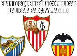 Enlace a Eran los que debían complicar la liga a Barça y Madrid