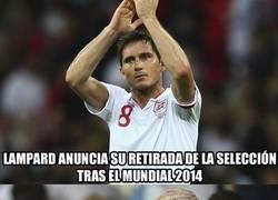 Enlace a Brasil 2014 despedirá a Lampard