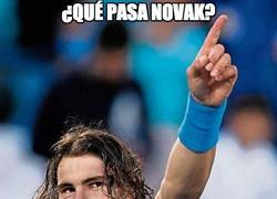 Enlace a ¿Qué pasa Novak?