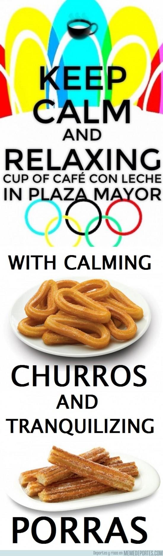 185055 - El desayuno de los olímpicos madrileños. Oh wait...
