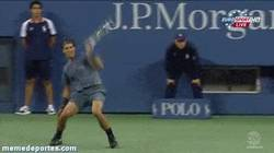 Enlace a GIF: Y ésta es la reacción al ganar un Grand Slam