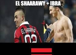 Enlace a Shaarawy + Ibra