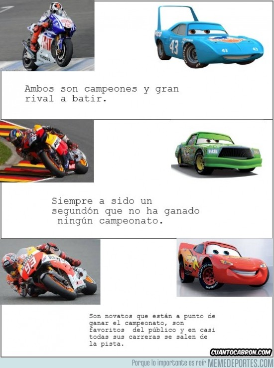 185286 - Coincidencias MotoGP vs Cars