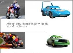 Enlace a Coincidencias MotoGP vs Cars