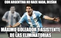 Enlace a Con Argentina no hace nada, decían