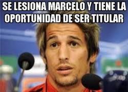 Enlace a Se lesiona Marcelo y tiene la oportunidad de ser titular
