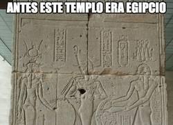 Enlace a Antes este templo era egipcio