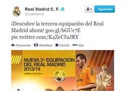 Enlace a Tercera equipación del Real Madrid y Arbeloa