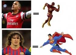 Enlace a ¿Qué pasaría si los jugadores fueran superhéroes?