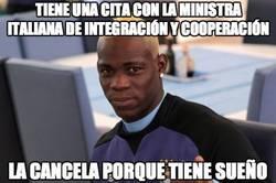 Enlace a Tiene una cita con la ministra italiana de integración y cooperación