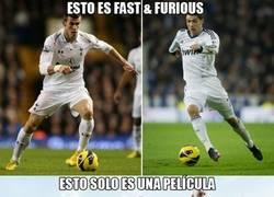 Enlace a Fast & Furious versión Real Madrid