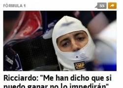 Enlace a Qué inocente eres, Ricciardo...