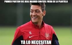 Enlace a Primer partido del Real Madrid con Özil fuera de la plantilla