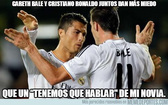 187061 - Gareth Bale y Cristiano Ronaldo juntos dan más miedo