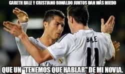 Enlace a Gareth Bale y Cristiano Ronaldo juntos dan más miedo