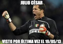 Enlace a Julio César, visto por última vez el 19/05/2013