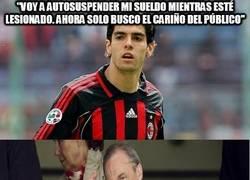 Enlace a La doble moral de Kaká