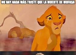 Enlace a No hay nada más triste que la muerte de Mufasa