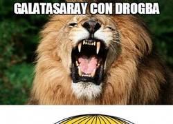Enlace a Galatasaray con/sin Drogba