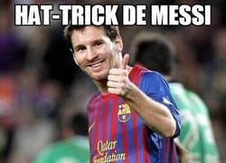 Enlace a Hat-trick de Messi