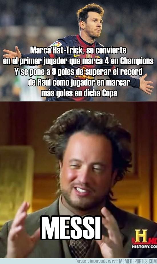 188123 - Que si CR7, Bale, Neymar... Y Messi sigue a lo suyo