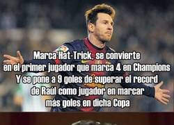 Enlace a Que si CR7, Bale, Neymar... Y Messi sigue a lo suyo