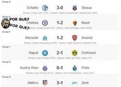 Enlace a Resultados de la Champions League 18/09/2013