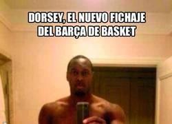 Enlace a Dorsey, el jugador del Regal Barça causa un revuelo en Internet por ésta foto