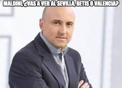 Enlace a Maldini, ¿vas a ver al Sevilla, Betis o Valencia?
