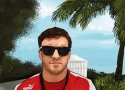 Enlace a Fernando Alonso es uno de los personajes del nuevo GTA V