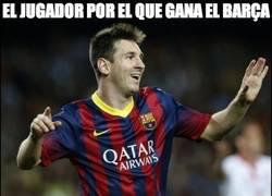 Enlace a Messi y Valdés, más que claves en el Barça