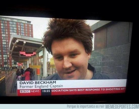 188583 - David Beckham se ha descuidado un poco tras retirarse