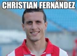 Enlace a Christian Fernández, nuevo miembro del club 1 minuto