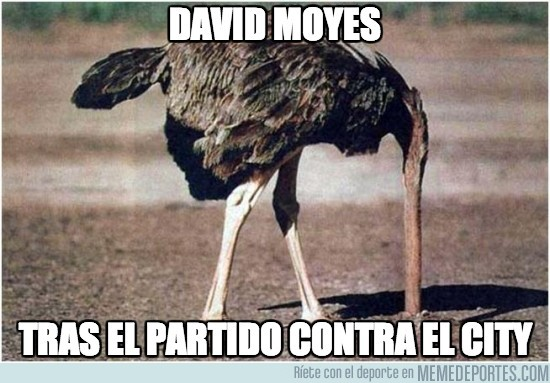 189050 - David Moyes tras el partido contra el City