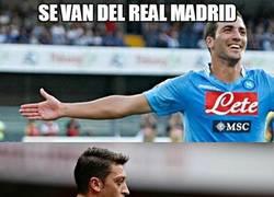 Enlace a Se van del Real Madrid