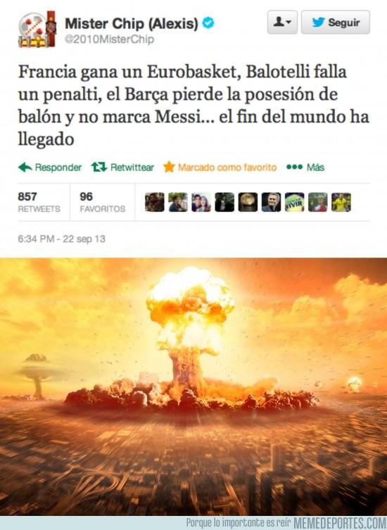 189284 - El fin del mundo ha llegado por @2010MisterChip