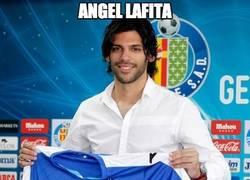 Enlace a Angel Lafita, abonado al Bernabeu