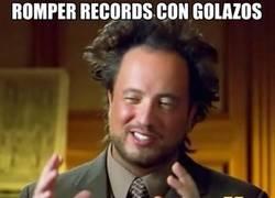Enlace a Romper records con golazos