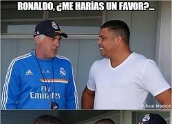 Enlace a Ronaldo, ¿me harías un favor?...