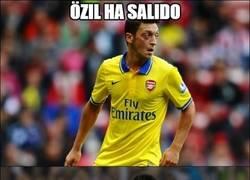 Enlace a Özil ha salido