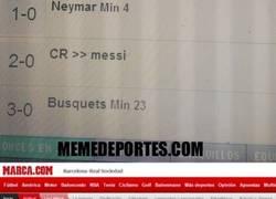 Enlace a El troleo a Marca durante el Barça - Real Sociedad