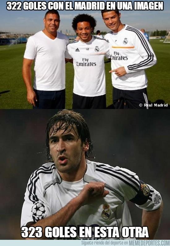 190032 - 322 goles con el Madrid en una imagen