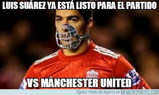 190139 - Luis Suárez ya está listo para el partido contra el United