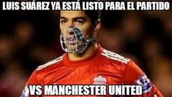 Enlace a Luis Suárez ya está listo para el partido contra el United